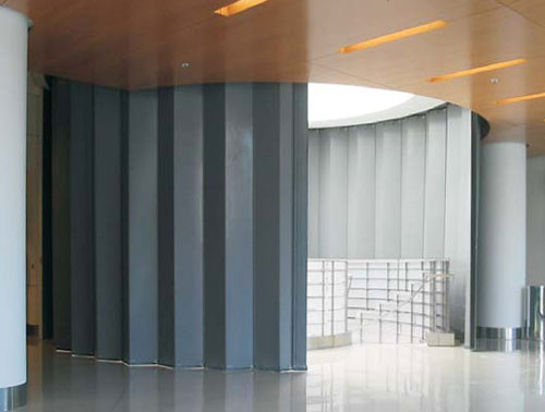 McKeon Accordeon Door ... & Pivotech: Operable Partition Walls and Sliding Grilles.